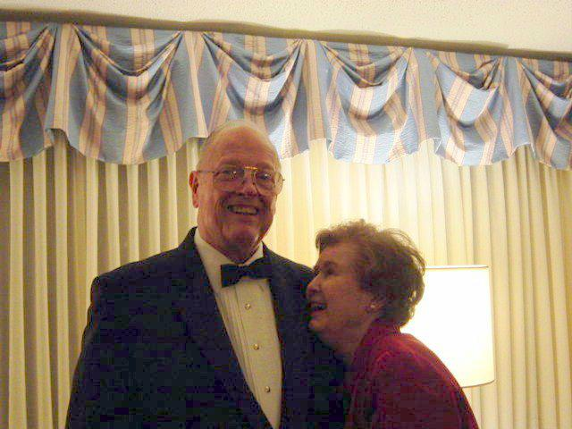 Retired Col. Thomas J. Agnor, Jr. and wife Dorsey