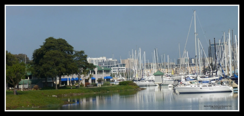 Marina Village Harbor and Business park photo by evelyn kennedy 2012