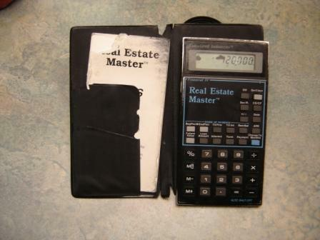ode to my real estate master calculator