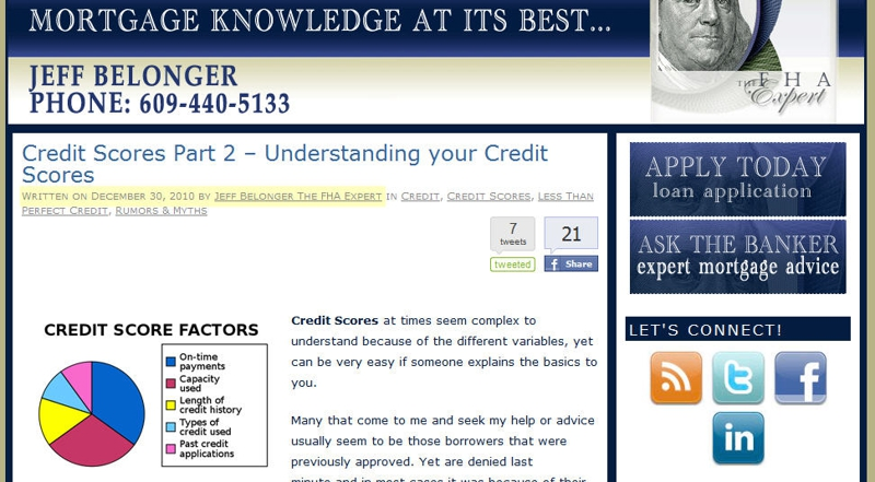 Understanding your credit scores from the FHA Expert