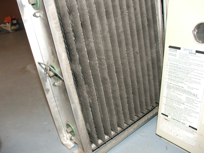 Furnace Air Cleaners : So you have an electronic air cleaner is it doing anything