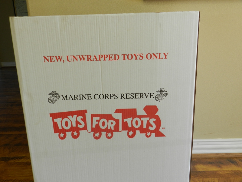 Toys For Tots Box : Toys for tots drop off nw houston tomball