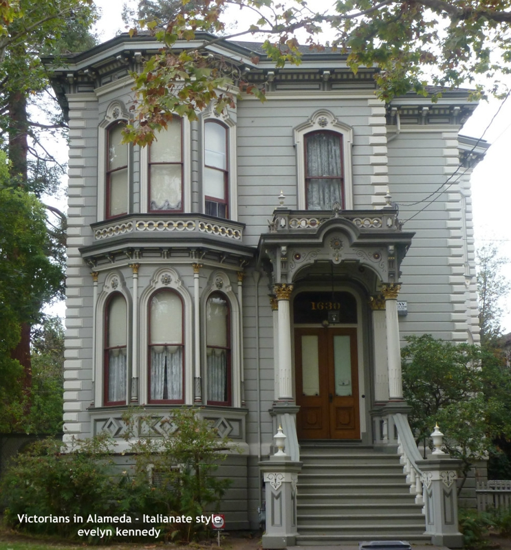 Victorians In Alameda Italianate Style