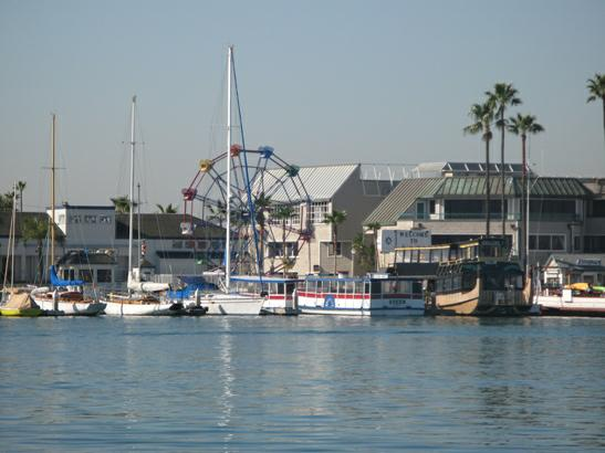 View Of The Balboa Peninsula Form Main Island Features Luxury Homes On Water And Interior