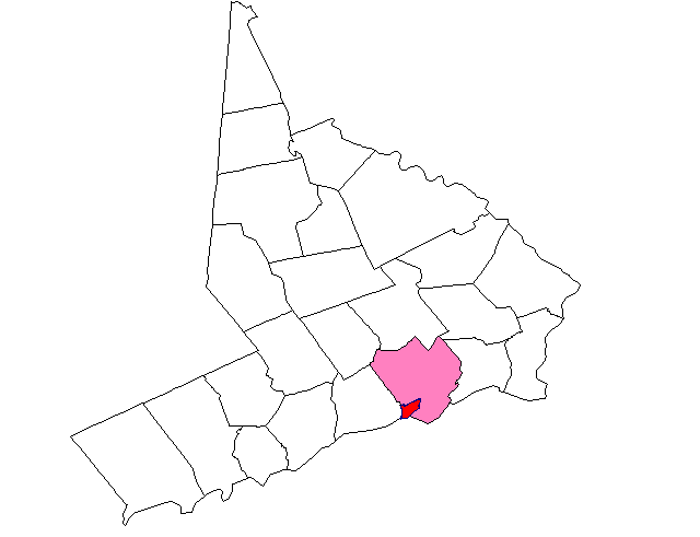 Map of Southport CT