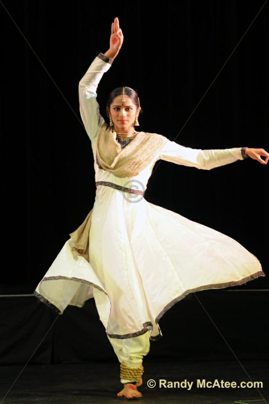Indian Dancer from  Tarangini-Indian Dance Ballet