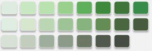 The Best Way To Determine What Your Client Means By Sage Is Have Them Show You Color They Mean Get Out Paint Samples Point