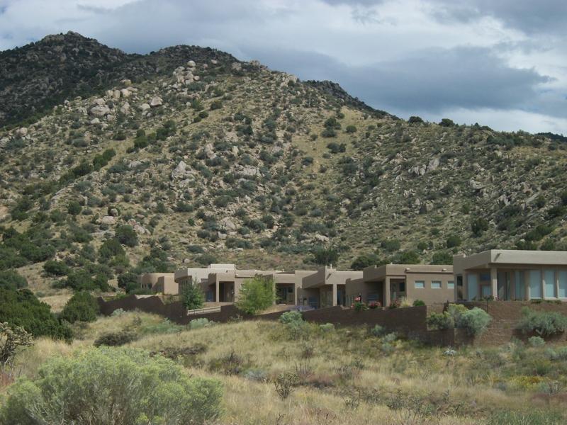 The Arroyo Behind Wilderness Compound