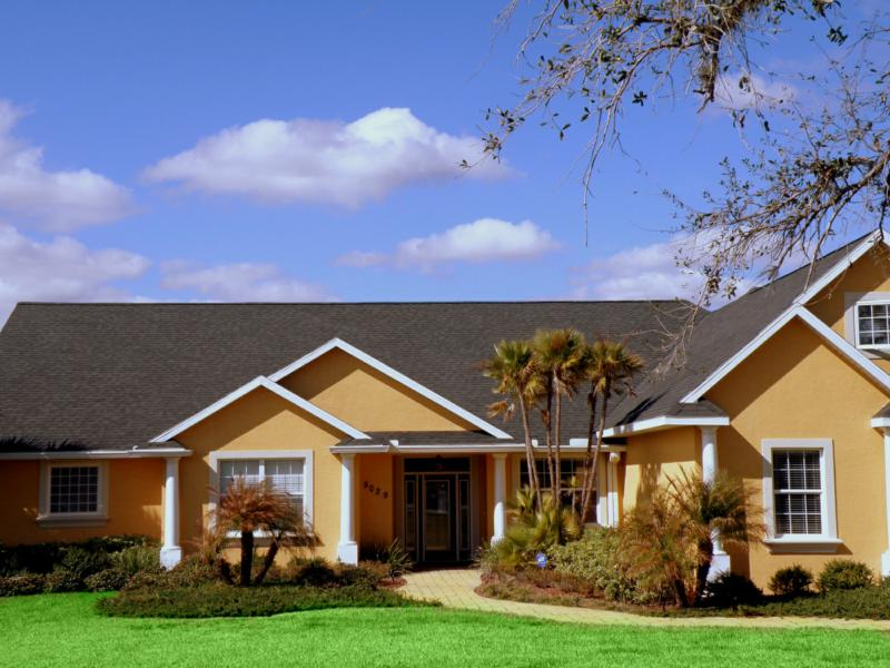 Sebring fl executive custom built two story lake front for 2 story lake house