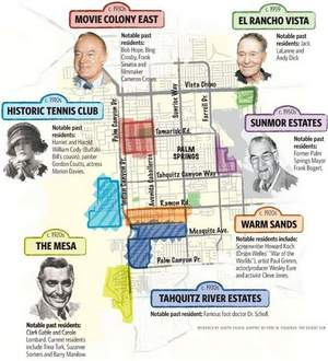 Maps to the movie stars homes