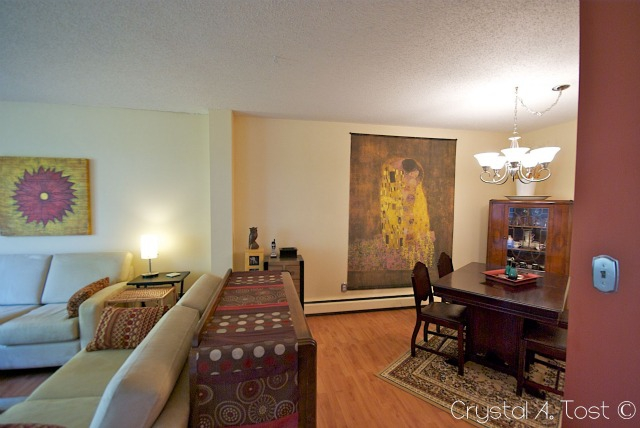 16A 80 Galbraith Drive SW - Living Area
