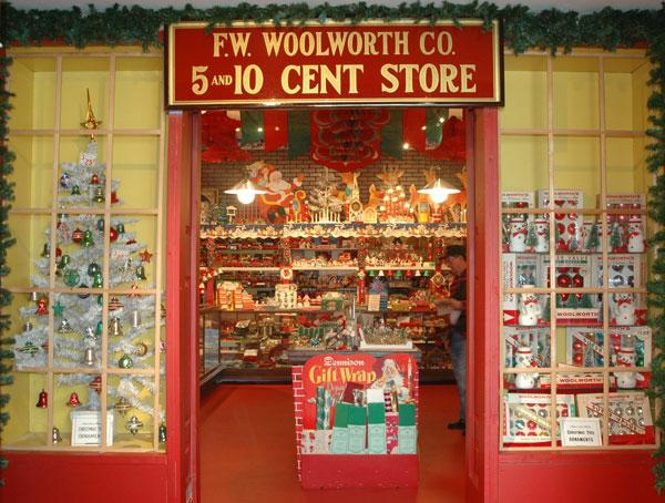 F.W.Woolworth 5 and 10 Cent Store