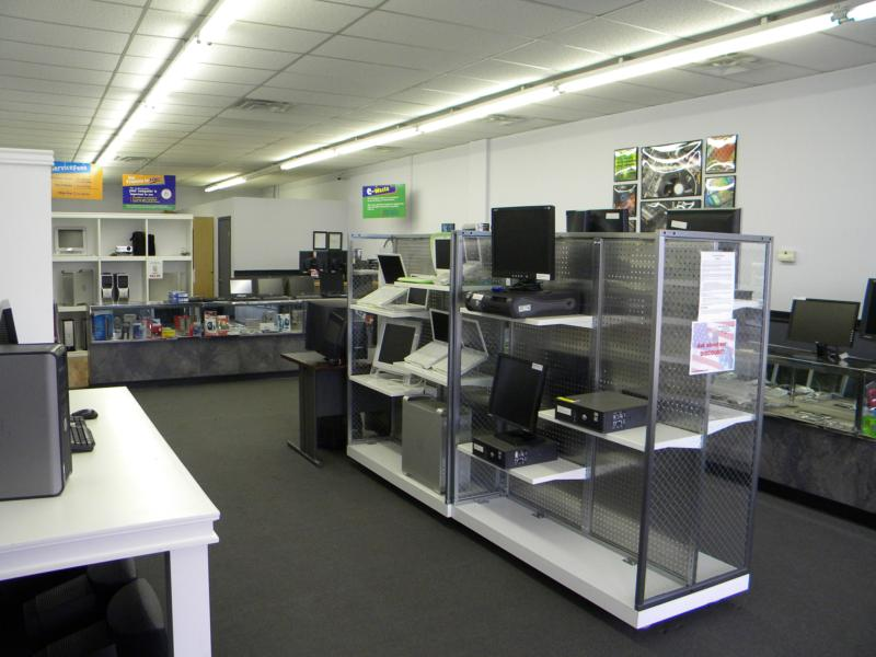 Inside the kc computer store