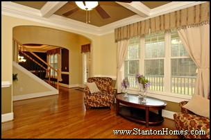 Home Builders Raleigh NC - Ceiling Types and Height
