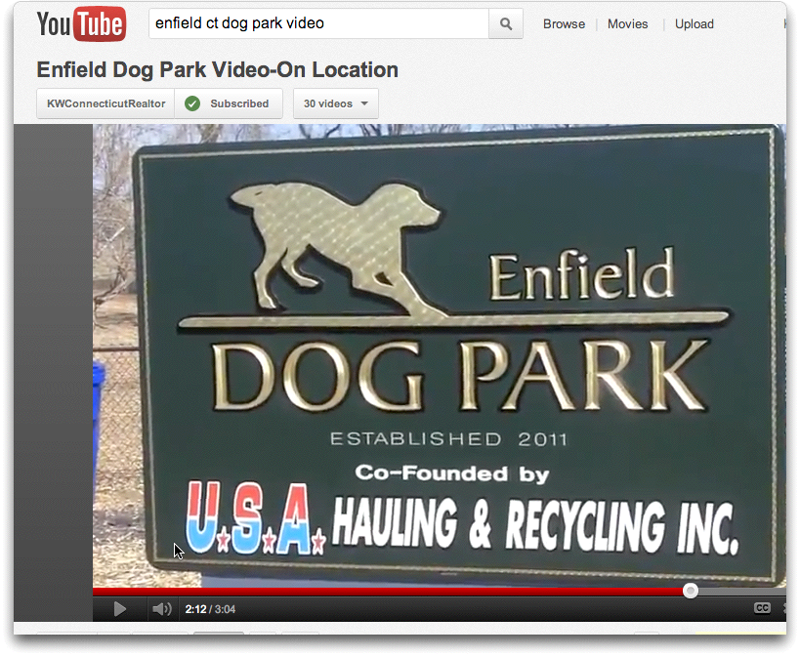 Enfield, CT Dog Park