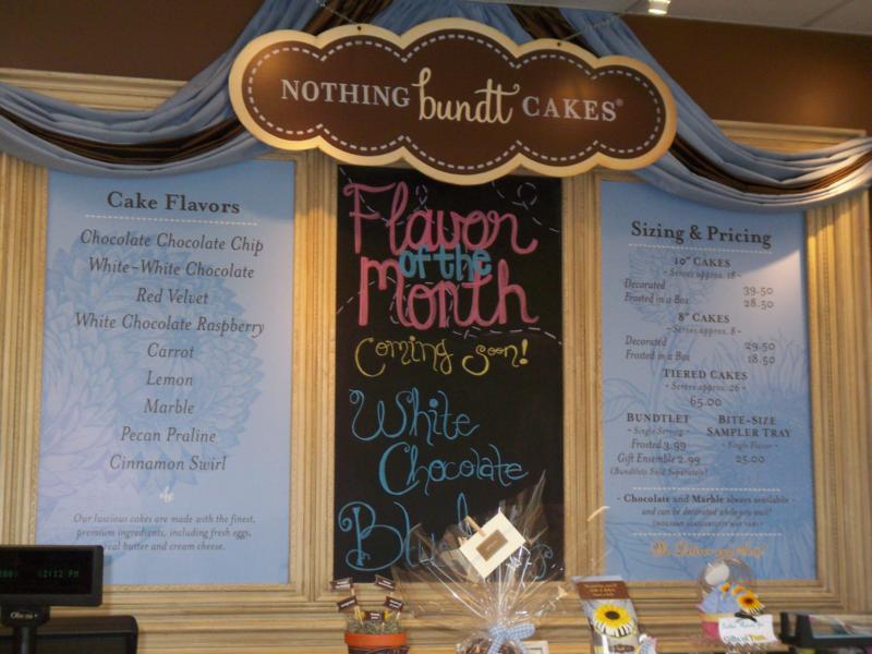 Nothing Bundt Cakes Cedar Park Texas