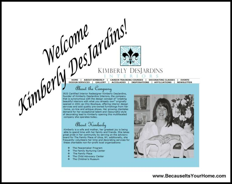 Welcome Kimberly DesJardins