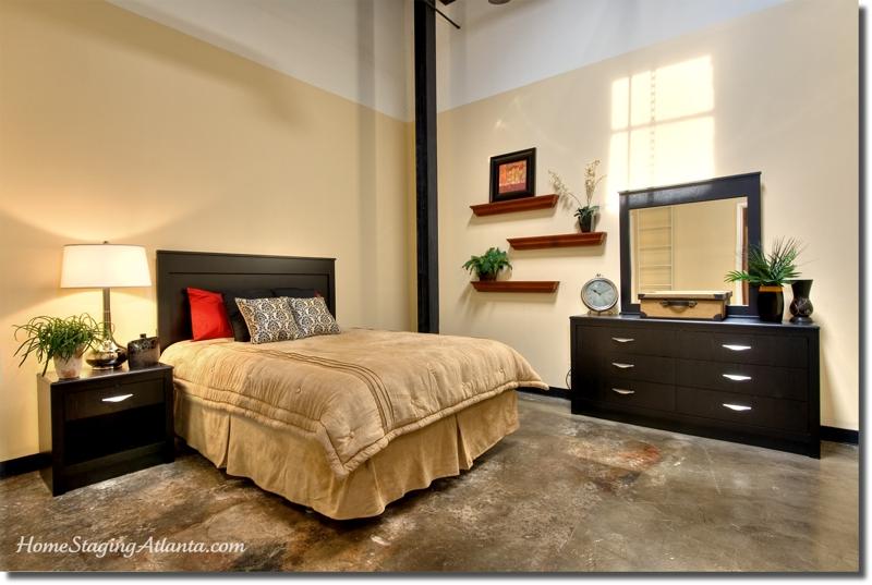 Home Staging Atlanta - Master Bedroom Makeover