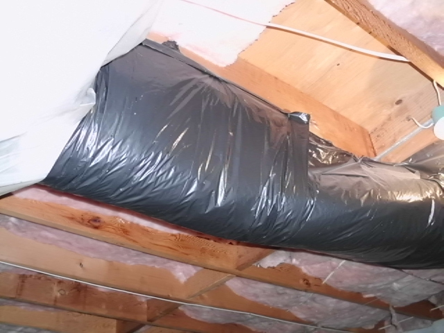 Bagged Ductwork