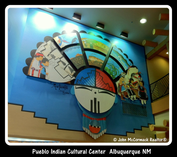 Indian Pueblo Culter Center, Art, Artwork, Indian Harvest Cafe, Bakery, Albuquerque, Realtor, John McCormack, McCormick