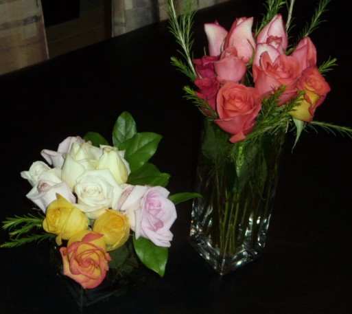 2 Vases of Roses HomeRome Realty