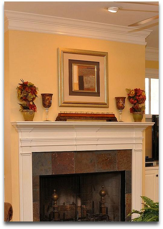 Home Staging Tip - What NOT To Do With Your Fireplace Mantel