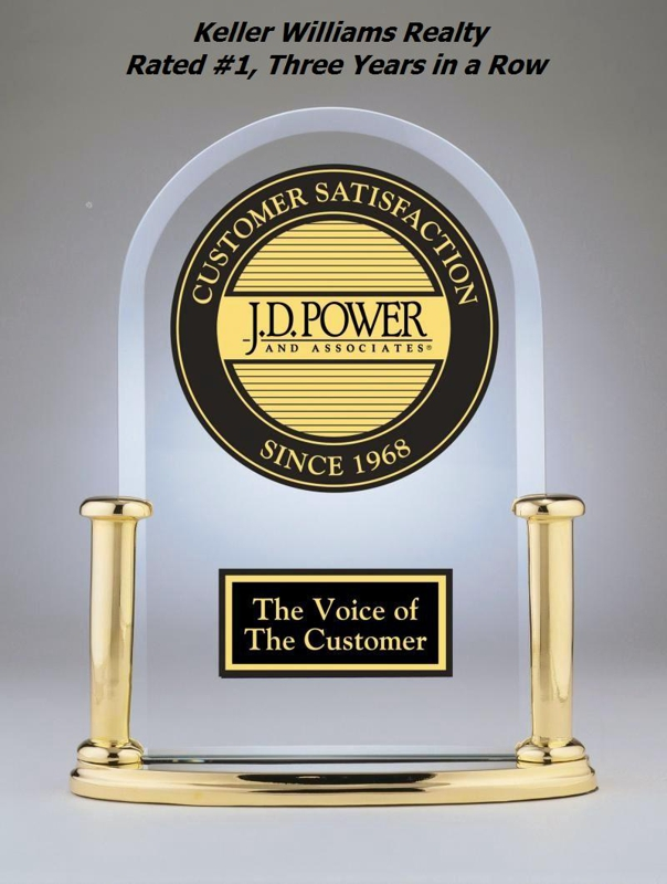 JD Power Rates Keller Williams #1 Karl Hess