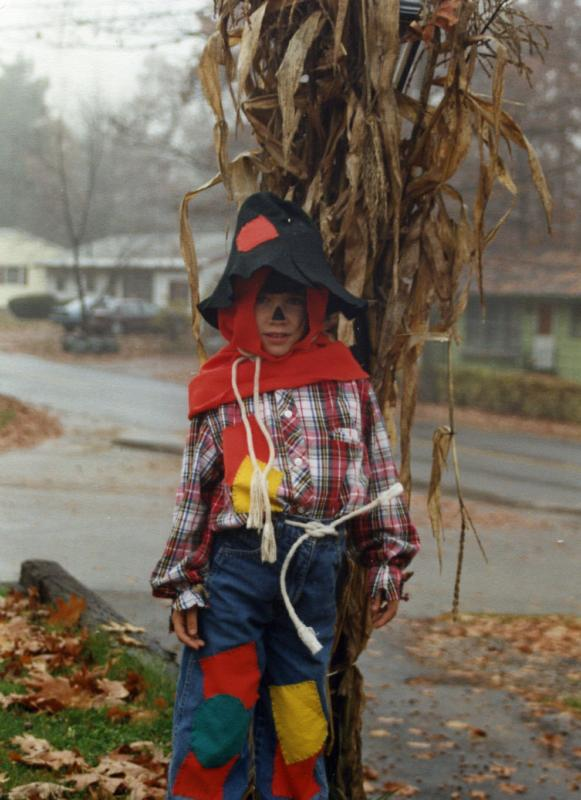 child's scarecrow costume