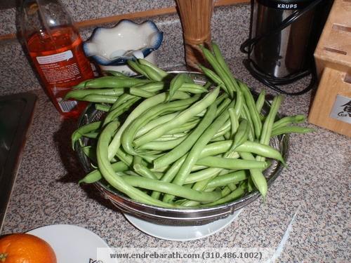 green beans Endre Barath,jr.