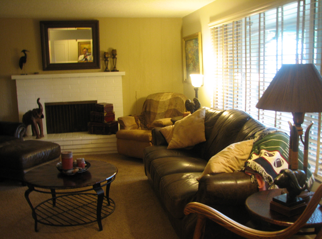 The difference between what they think is staging and real for Difference between living room and family room