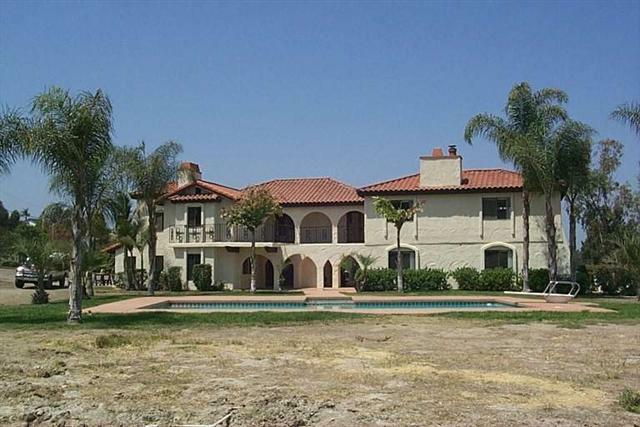 Spanish hacienda in Bonita, California