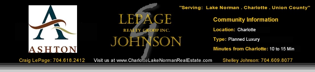 Ashton Homes for Sale Charlotte NC Luxury Homes Mecklenberg County