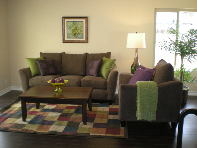 Pro Staged Homes Family Room After