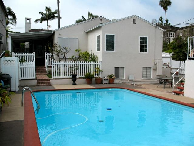 Pool at 292 Granada Ave in Belmont Heights, Long Beach listed by Norma Toering and Team RE/MAX Palos Verdes Realty
