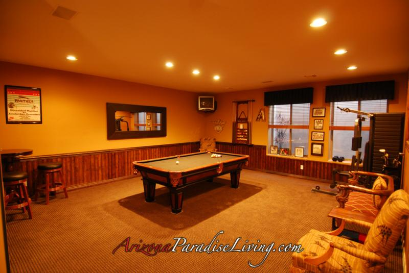 Luxury basement home listing in n e mesa 39 s arboleda for Luxury basements