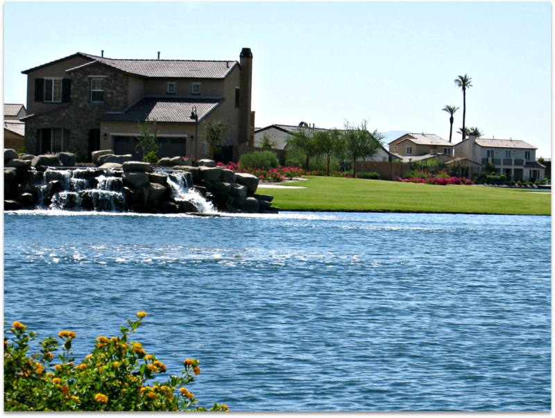 Lake Front homes in Terra Lago, Indio