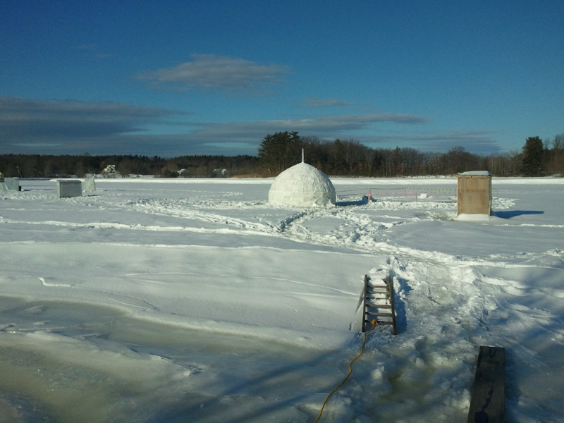 Igloo for sale in historic exeter nh for Closest fishing store