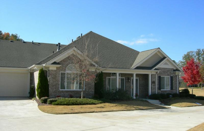 Arbor oaks subdivision active adult community east for One level houses for sale