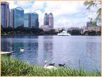 Georgeous Lake Eola in downtown Orlando Florida!!