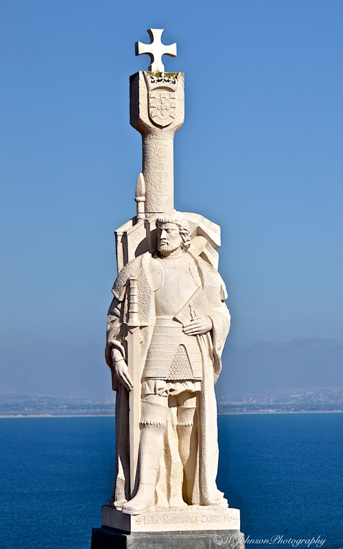 A bit of san diego history the cabrillo national monument for Facts about the monument