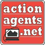 Company Logo - ACTIONAGENTS.NET - Eugene, OR - Jim Hale, Principal              Broker