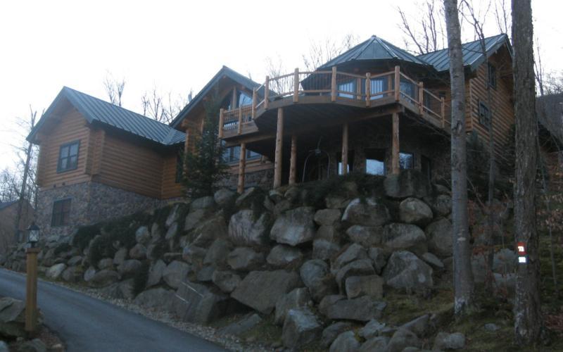 Loon Mt New Hampshire Area Log Homes Adirondack And Post