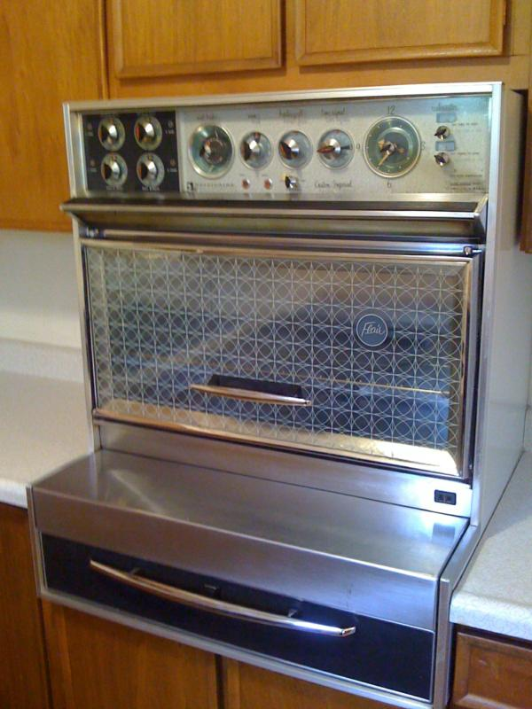 arvada home for sale vintage oven