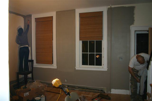 Transforming a Dover NH Condo...Part 3 A New Door and