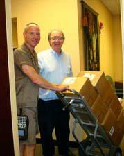 Tim Burrell's Books Arrive