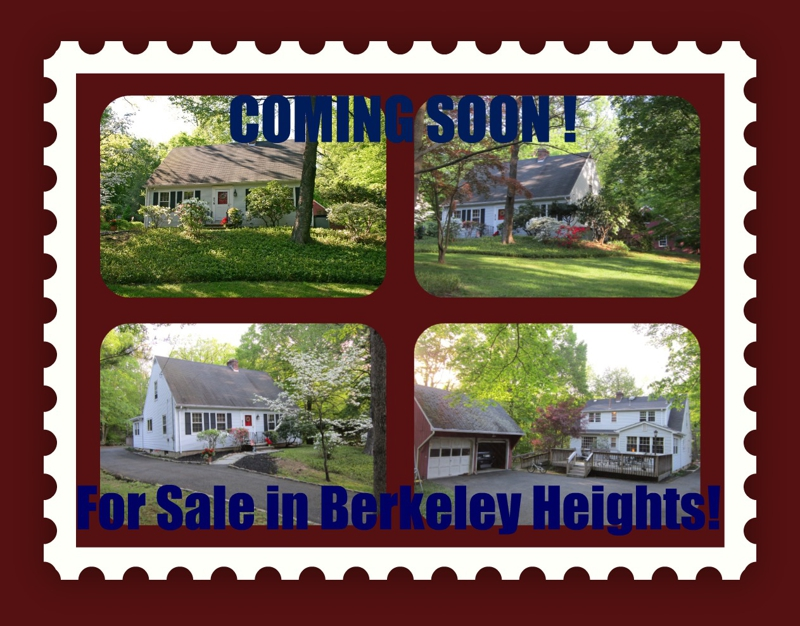 For Sale Soon in Berkeley Heights, NJ 07922