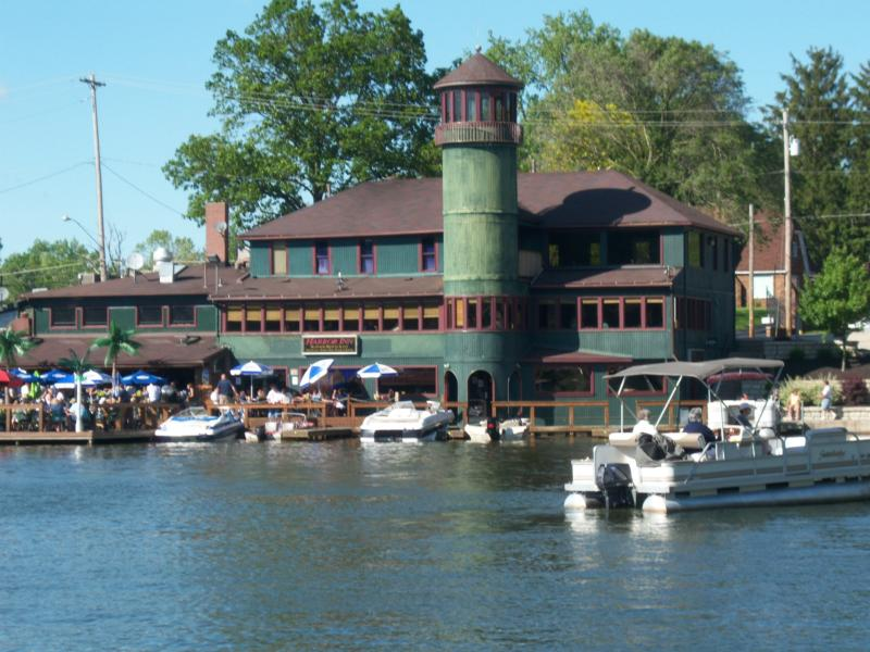 View of the Harbor Inn on Portage Lakes