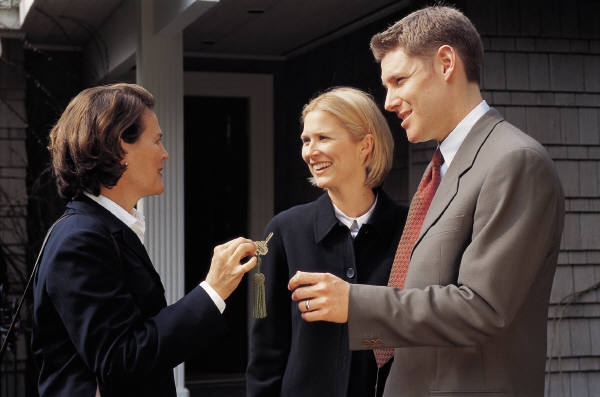 Buyers get the keys when they are the legal owners