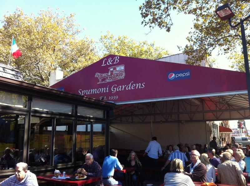 explore brooklyn new york spumoni gardens