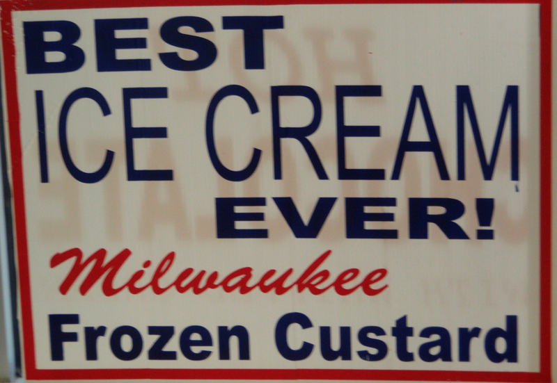 Milwaukee Frozen Custard Sign